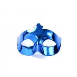 Škraboška modrá, maska na párty, 1ks