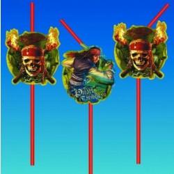 Slamky Piráti z Karibiku