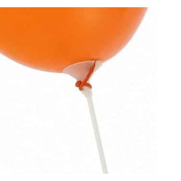 Stojanček a palička z umelej hmoty pre balóny, 37cm