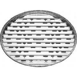 Tácka na gril okrúhla ALU, 34cm, 3ks