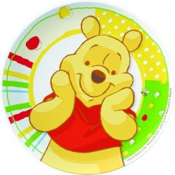Tanier plast Winnie Happy, 20cm, 1ks