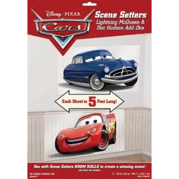 Tapetové doplnky Cars - Autá