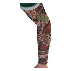 Tetovaný Rukáv Strašidelný klaun