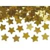 Vystreľovacie konfety zlaté hviezdy, 40cm