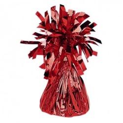 Závažie na balón fóliované červené
