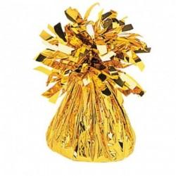 Závažie na balón fóliované zlaté