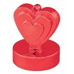 Závažie na balóny Srdce červené