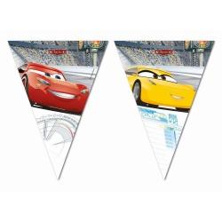 Závesné vlajky Cars 3