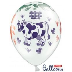 Balón Farma zvieratká, 35cm, 1ks