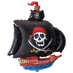 Balón fóliový Pirátska loď, 35cm