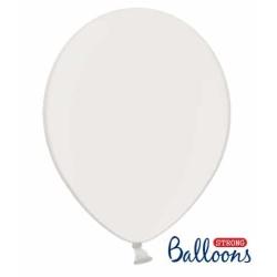 Balón metalický biely, 30cm, 1ks