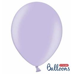 Balón metalický bledofialový, 30cm, 1ks