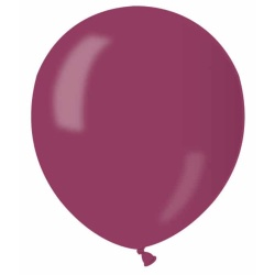 Balón metalický bordový, 13cm, 1ks