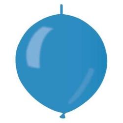 Balón metalický do girlandy modrý, 32cm, 1ks