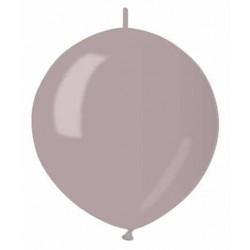Balón metalický do girlandy perľový, 32cm, 1ks