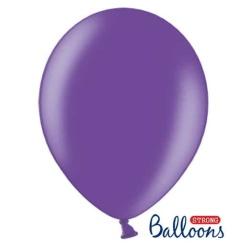 Balón metalický fialový, 30cm, 1ks