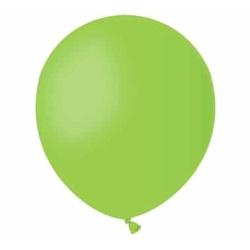 Balón pastelový bledozelený, 13cm, 1ks