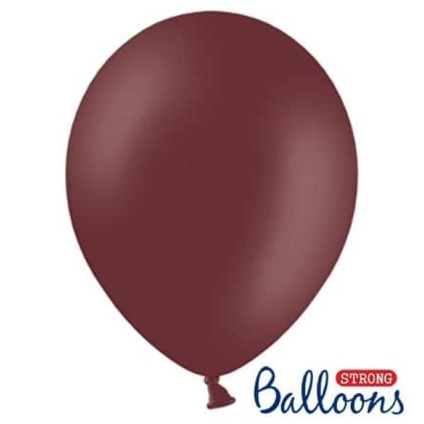 Balón pastelový červenohnedý, 23cm, 1ks
