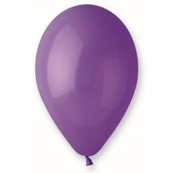 Balón pastelový fialový, 30cm, 1ks