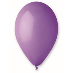 Balón pastelový levanduľový, 30cm, 1ks
