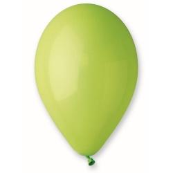 Balón pastelový pistáciový, 30cm, 1ks