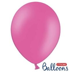 Balón pastelový ružový, 23cm, 1ks