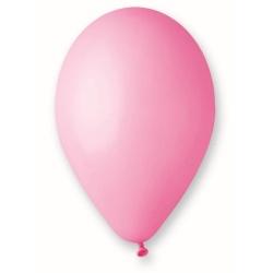 Balón pastelový ružový, 30cm, 1ks