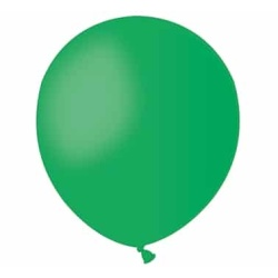 Balón pastelový zelený, 13cm, 1ks