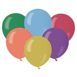 Balóny metalické mix farieb, 13cm, 100ks