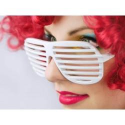 Okuliare žalúzie biele