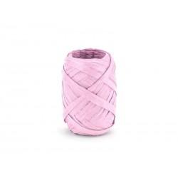 Ozdobná stuha Raffia, ružová, 5mm x 10m