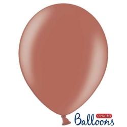Balón metalický bledohnedá, 30cm, 1ks