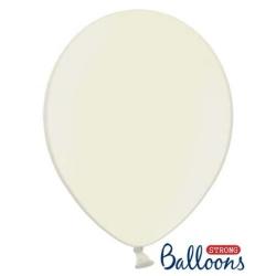 Balón metalický krémový, 30cm, 1ks