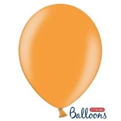 Balón metalický oranžový, 30cm, 1ks