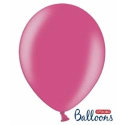 Balón metalický tmavoružový, 30cm, 1ks