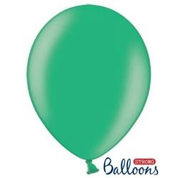 Balón metalický zelený, 30cm, 1ks