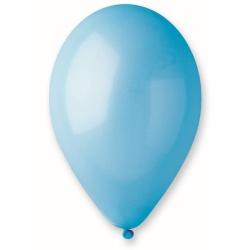 Balón pastelový bledomodrý, 26cm, 1ks
