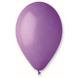 Balón pastelový fialový, 26cm, 1ks