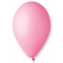 Balón pastelový ružový, 26cm, 1ks