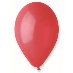 Balón pastelový tmavočervený, 26cm, 1ks
