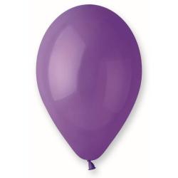 Balón pastelový tmavofialový, 26cm, 1ks