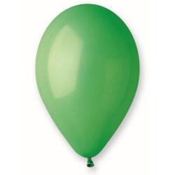 Balón pastelový zelený, 26cm, 1ks