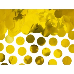 Konfety zlaté lesklé kolieska, 15g