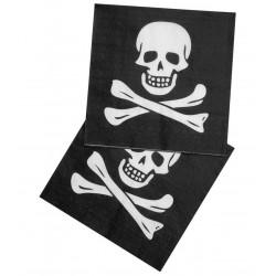 Papierové servítky Pirát, 33x33cm, 12ks