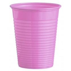 Plastový pohár bledofialový, 10ks