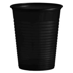 Plastový pohár čierny, 10ks
