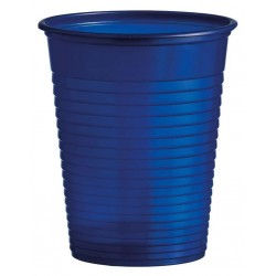 Plastový pohár modrý, 10ks