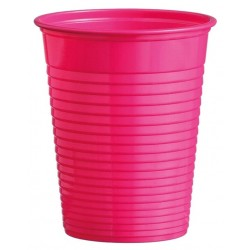 Plastový pohár tmavoružový, 10ks