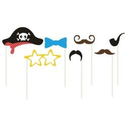 Rekvizity na fotenie na paličke Pirát