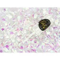 Vystreľovacie konfety PUSH POP, perleťové dúhové